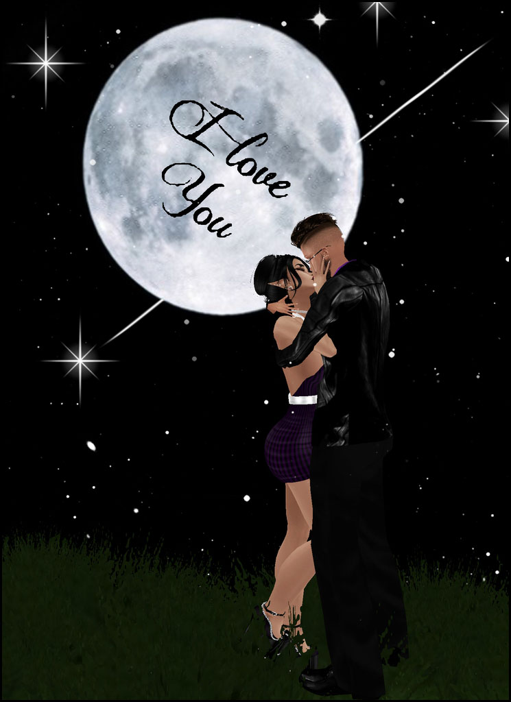 I Love You. To The Moon n Back. by HisAngelGoddess2010