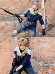 Cloud Strife. On a mission