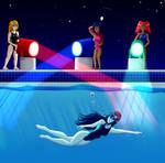 Spotlight Swim (OC style) by CobaltGlacier