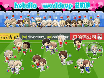 APH - Hetalia World Cup 2010 by rukaxxx