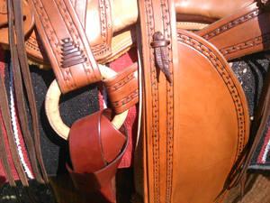 Santa fe saddle -details