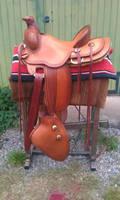 Ranch-saddle 2.0 with tapaderos