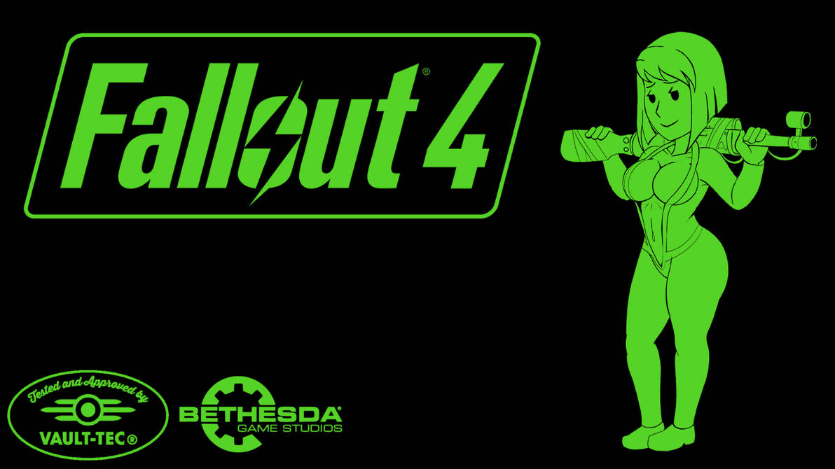 Sexy Vault Dweller Girl (Fallout 4 Wallpaper) by SuccubusBrony ...