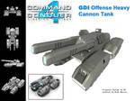 GDI Offense Cannon Tank  CC4