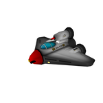 Player ship from Astro-Nomical