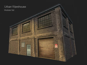 3D Modular Urban Warehouse