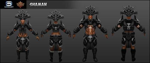 Shaman : Dungeon Hunters III by Cydel