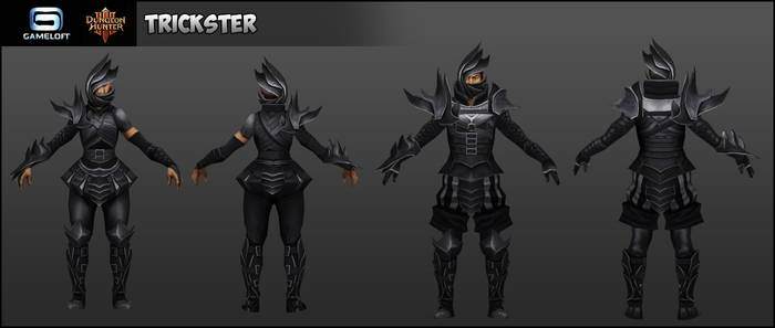 Trickster : Dungeon Hunters III