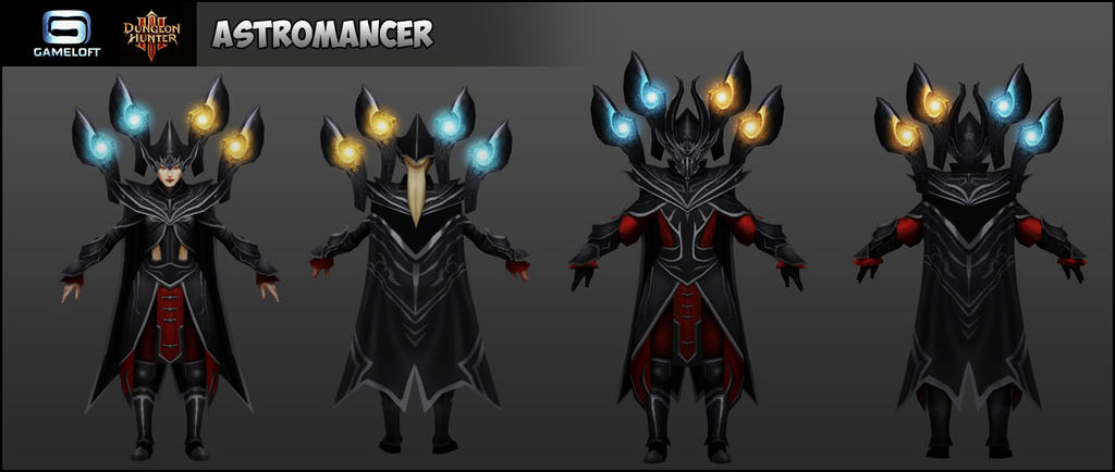 Astromancer : Dungeon Hunters III by Cydel