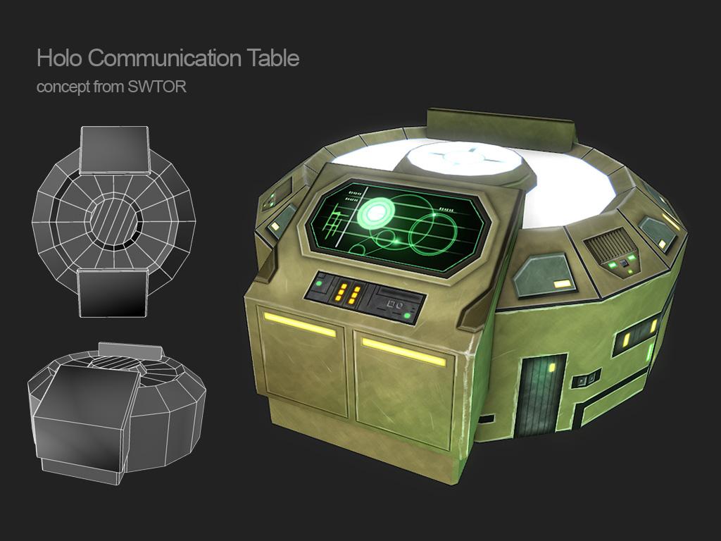 Holo Table : SWTOR by Cydel