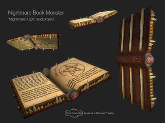 Nightmare Book Monster