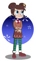 Stellaluna - Gingerbread Attire by Thronestorm690