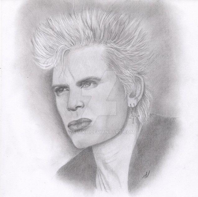 Billy Idol by valakh