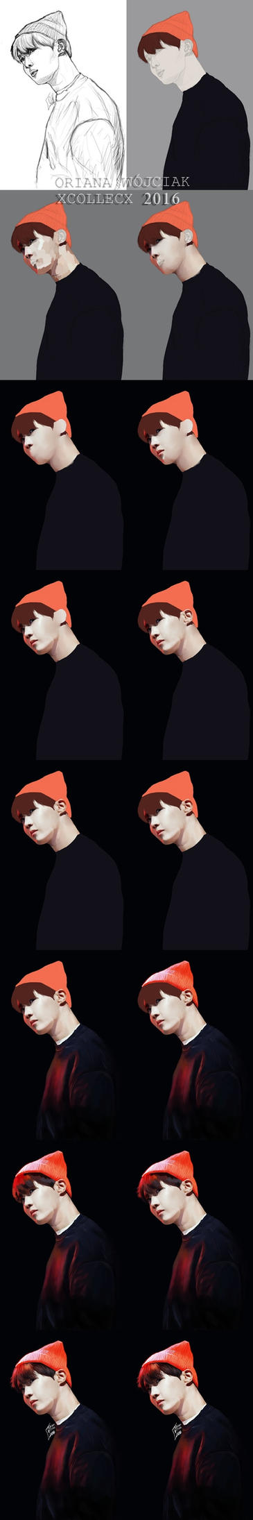 STEP BY STEP: J-Hope by xCollecx