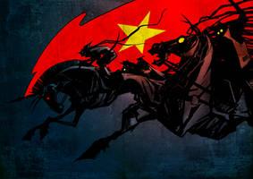 RED DEVILS by CHERDAK