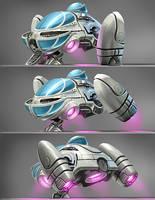 Tuny Spaceship by CHERDAK