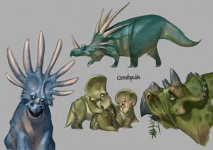 Ceratopsids