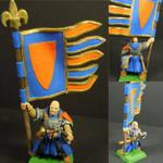 Bretonnian Men At Arms (WIP) 5 by Texmar21