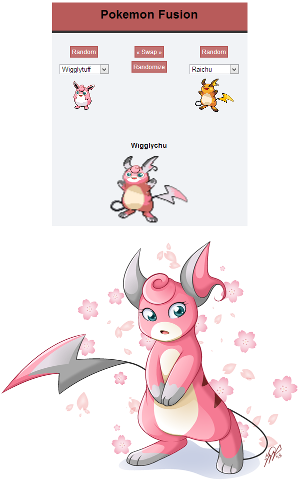 Wigglychu by akane the fox on deviantart - Cute pokemon fusions ...