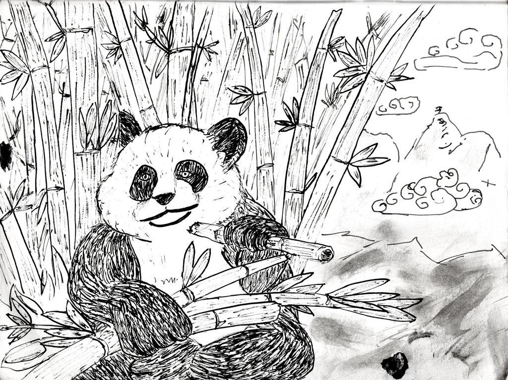 Comedor de bambu by Gonarsan