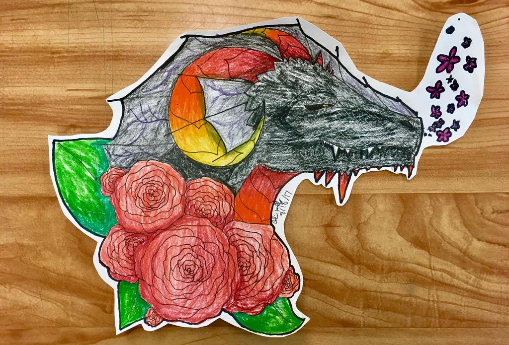 Dragon by superultramegatrash