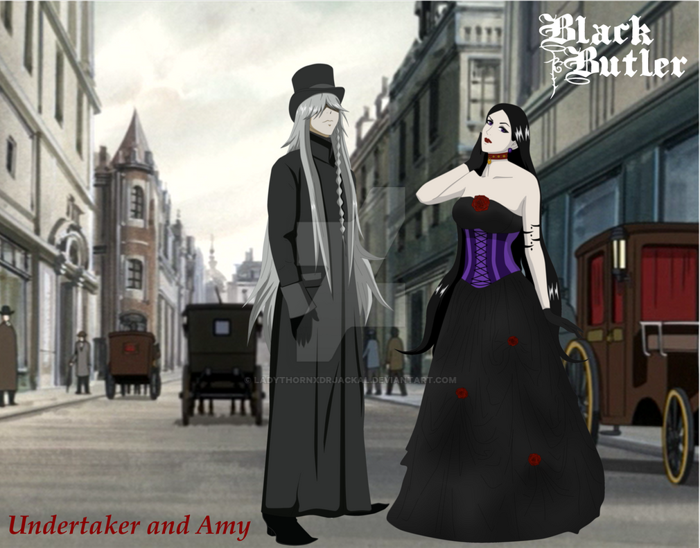Black Butler Undertaker And Amy Wallpaper By LadyThornXDrJackal