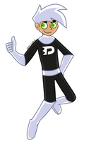 Danny Phantom by 0palite