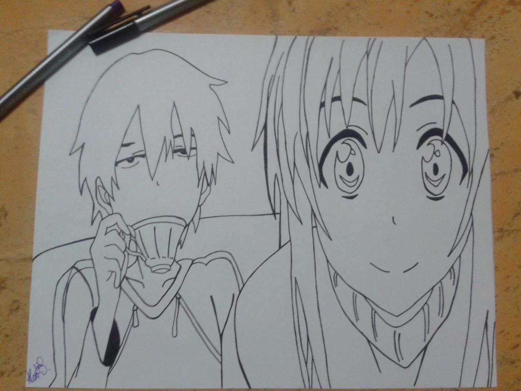 Kirito x Asuna by ShadowDia963