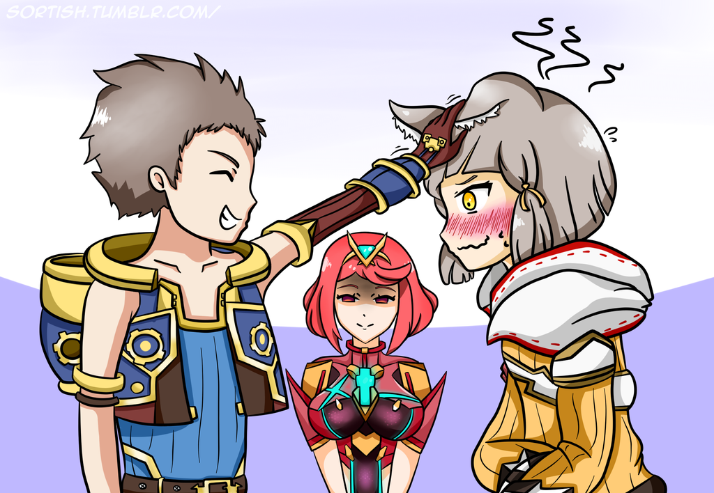 xenoblade chronicles how to give gifts