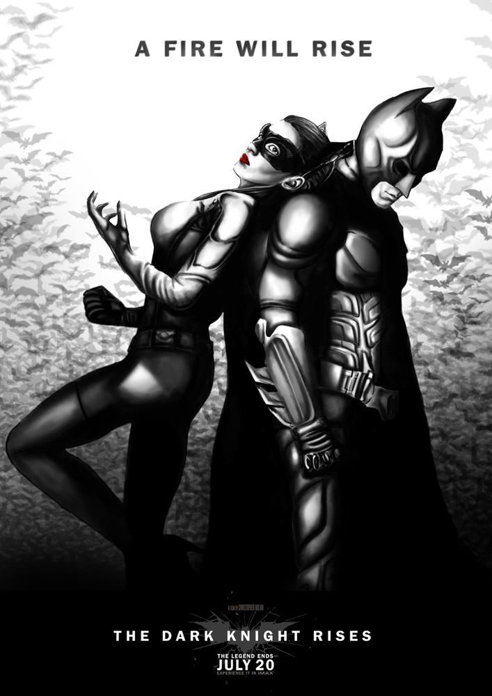 TDKR in Arkham City  Style by JawZ270589