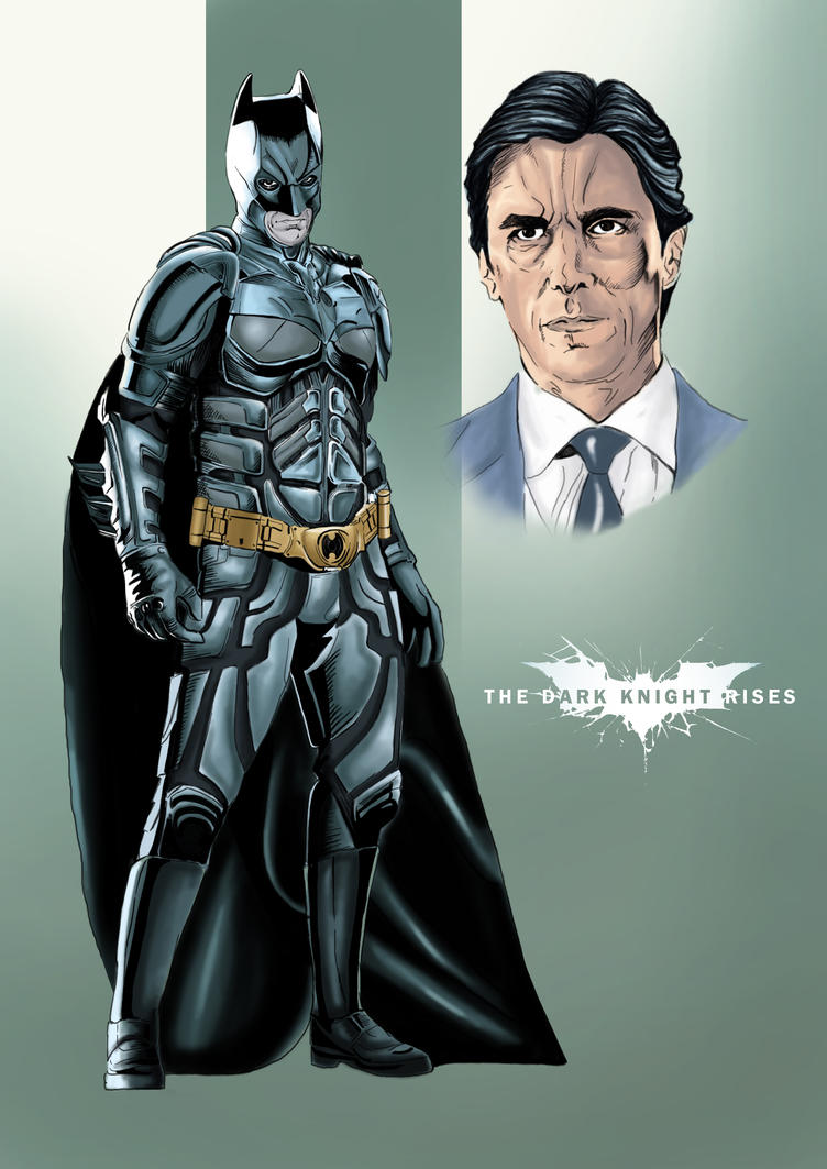 Batman - Bruce Wayne by JawZ270589