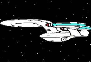 Starship Enterprise by dhorlick