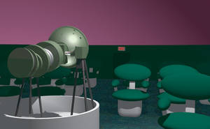 Planetarium Exit by dhorlick