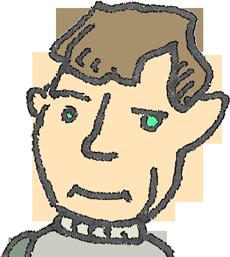 Alan Turing by dhorlick