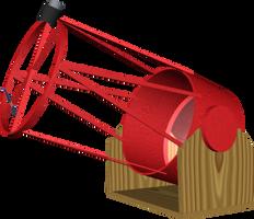 Homemade Telescope by dhorlick