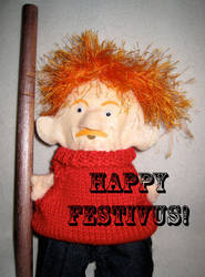 Father Festivus by dhorlick