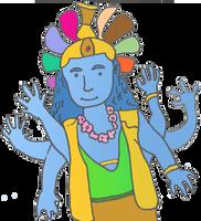 Vishnu by dhorlick