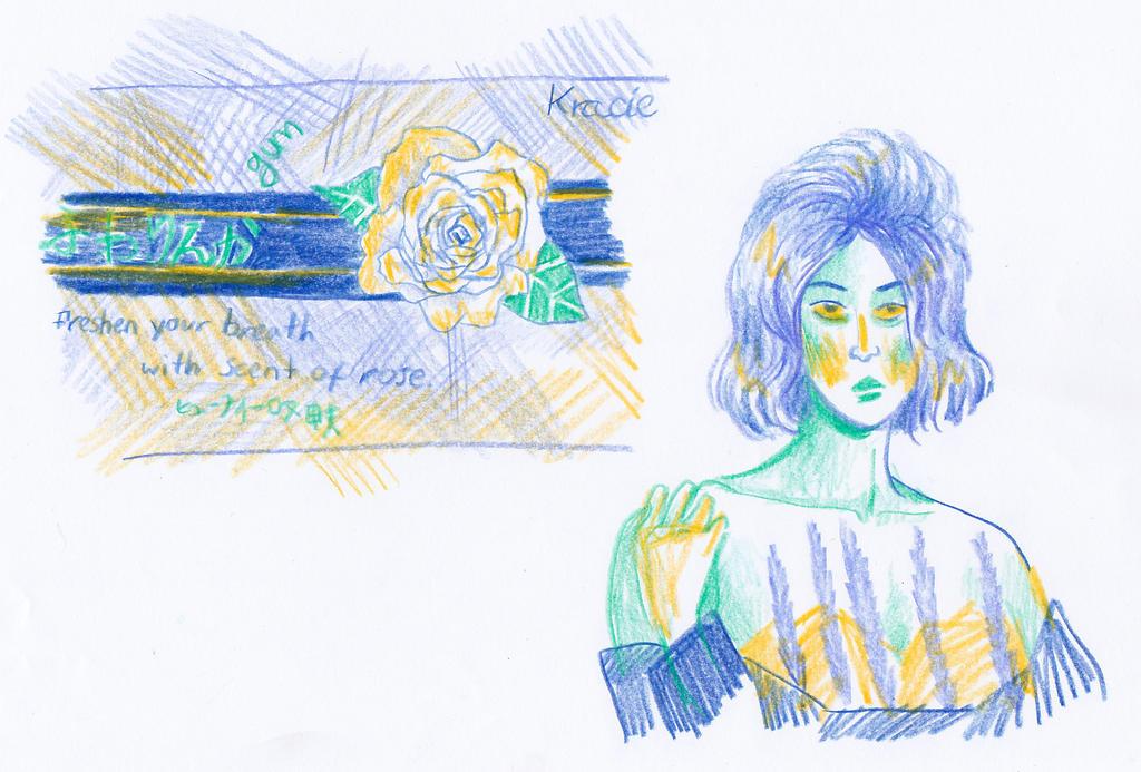 sketches by ilikepie94