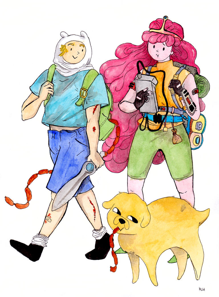 Adventure Time! sassage mission by ilikepie94
