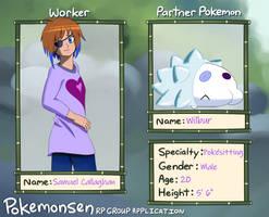 Pokemonsen Drawn App: Samuel Callaghan