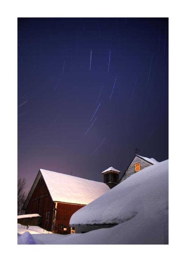 A Winter Night by IraMustyPhotography