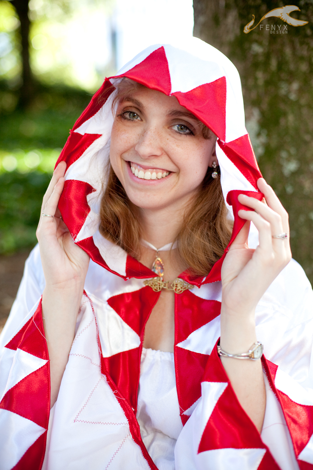 AWA 2011 - Final Fantasy | White Mage by elysiagriffin