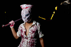 EXPCon 2011 - Silent Hill | Nurse by elysiagriffin