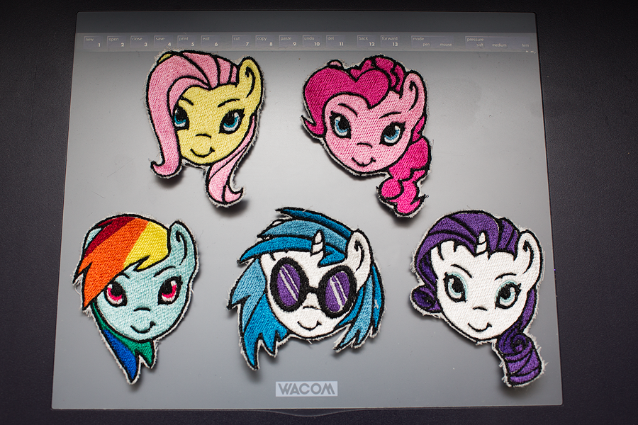 My Little Pony Patches by elysiagriffin