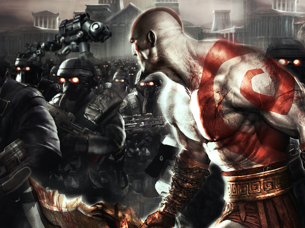 Fan Art de God Of War