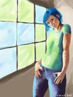 Life in Blue by circuitleaf