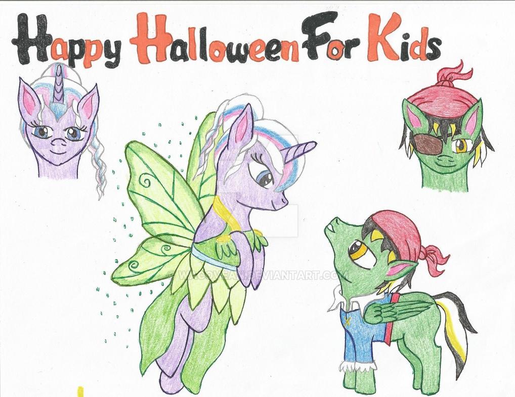 Happy Halloween for Kids by Wacovean