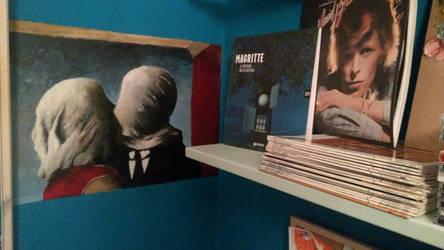 Les amants Ren Magritte by sofia-bartorilla
