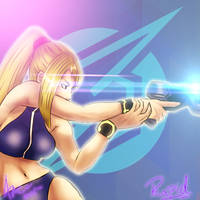 Zero Suit Samus (Icon Commission) by ArcEdo11