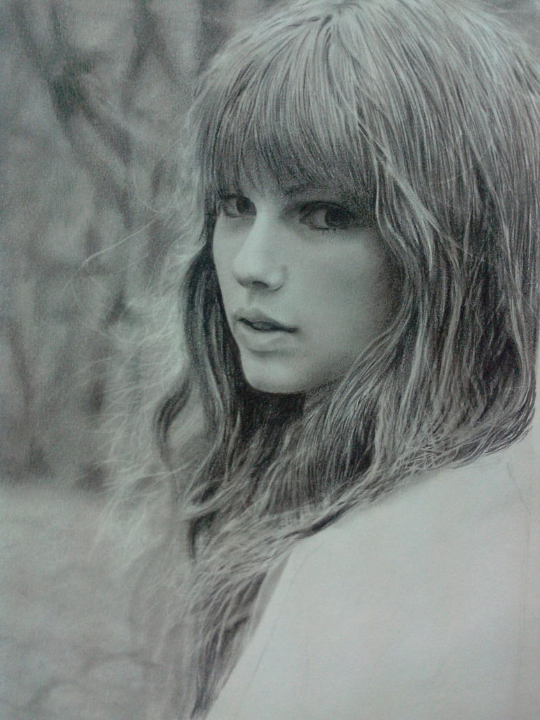 taylor swift WIP by urielbeaupre